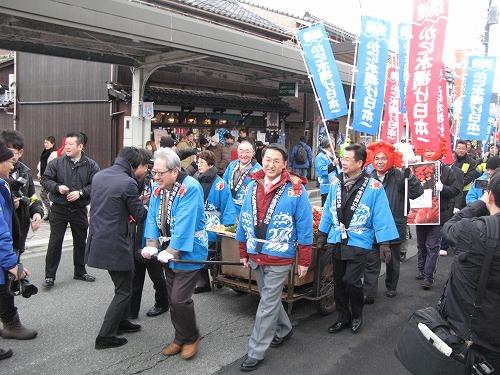 カニ感謝祭2014・パレード